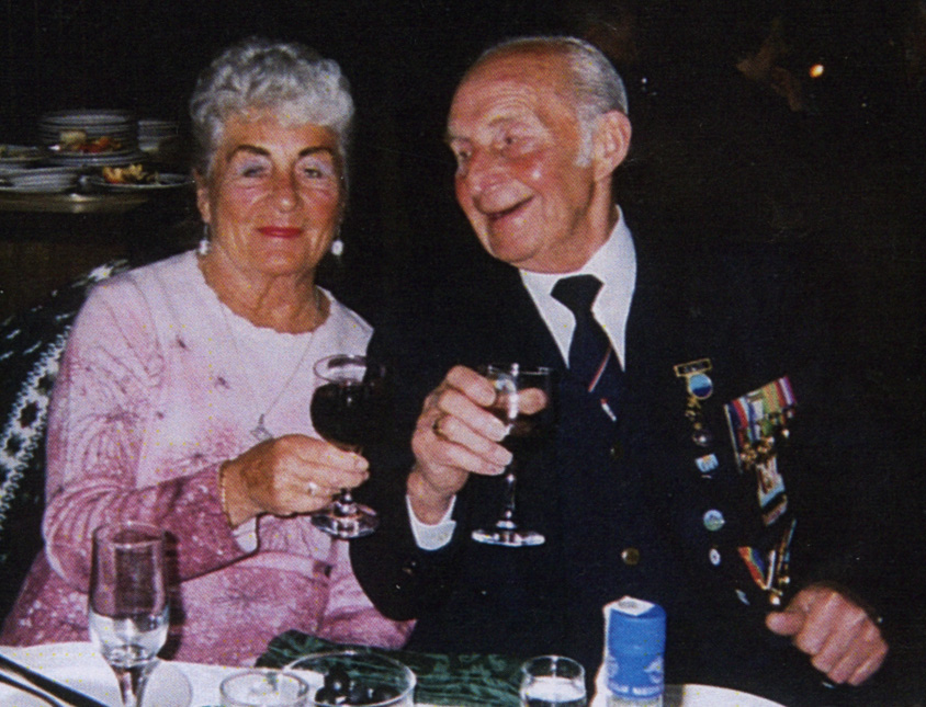 Albert Foulser and his wife Joan Foulser
