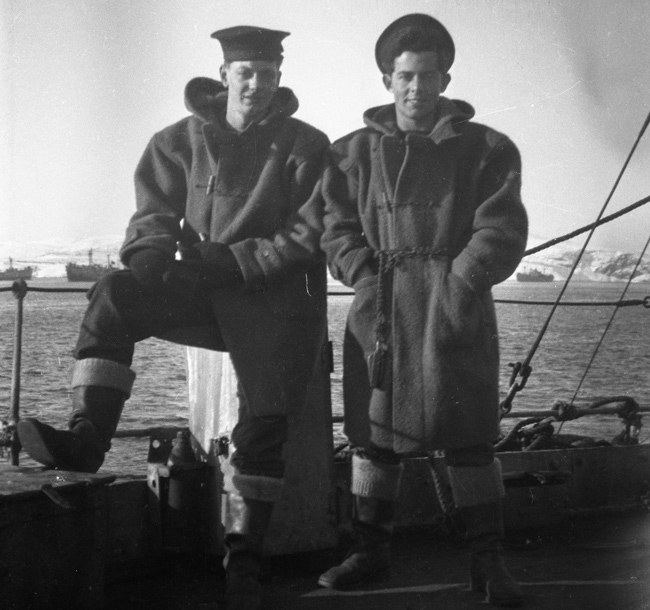 Shipmates on HMS Walker