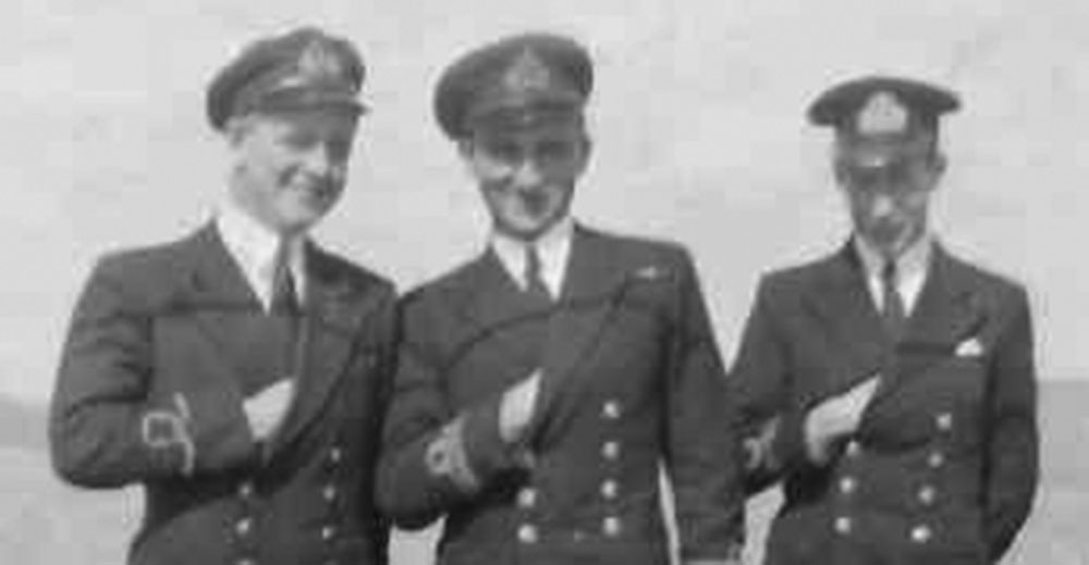 Shipmates in HMS Walker