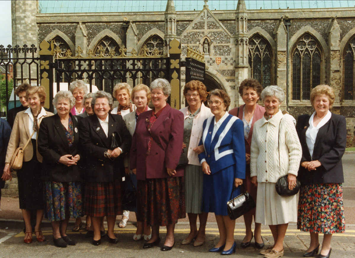 Reunion at Yarmouth 1996 - the Ladies