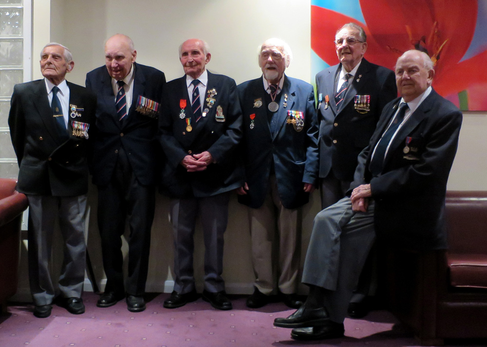 The veterans who met at St Ives near Cambridge in 2016